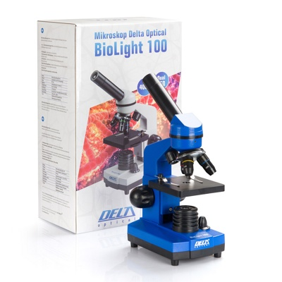 Микроскоп Delta Optical BioLight 100 синий