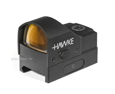 Прицел Hawke Reflex Red Dot Sight ~ Digital Control (5MOA)