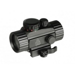 "Прицел Leapers 1x30 UTG 4"" Compact ITA Red/Green Circle Dot Sight c креплением на Weaver #SCP-RG40CDQ"